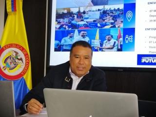 Gobernador de ARauca, se encuentra en buenas condiciones, pese a dar positivo para COVID-19.